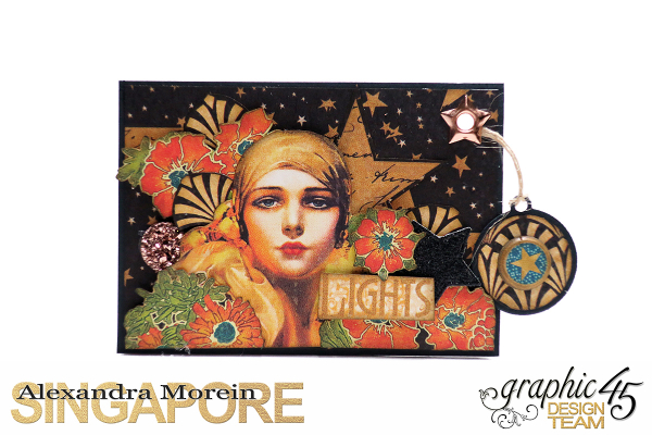 Vintage Hollywood Artist Trading Cards  Project by Alexandra Morein  Product by Graphic 45  Photo 3