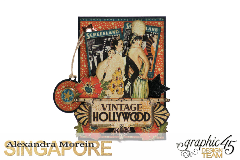 Vintage Hollywood Artist Trading Cards  Project by Alexandra Morein  Product by Graphic 45  Photo 6
