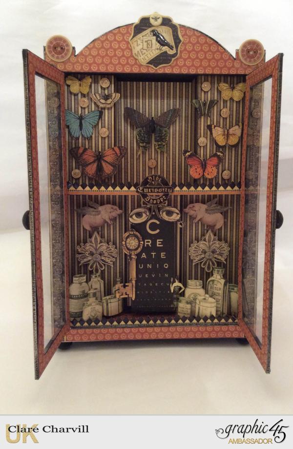 Curio Cabinet 1 Clare Charvill Graphic 45