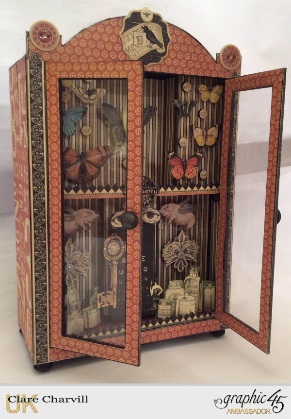 Curio Cabinet 3 Clare Charvill Graphic 45