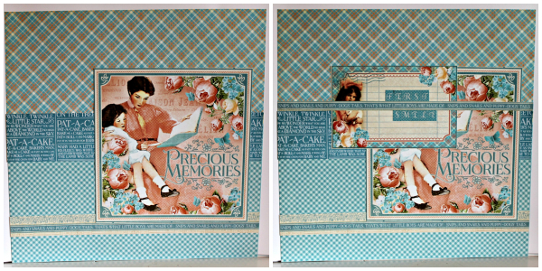 Graphic 45 Precious Moments Layout by Pam Bray with Tutorial Collage 1