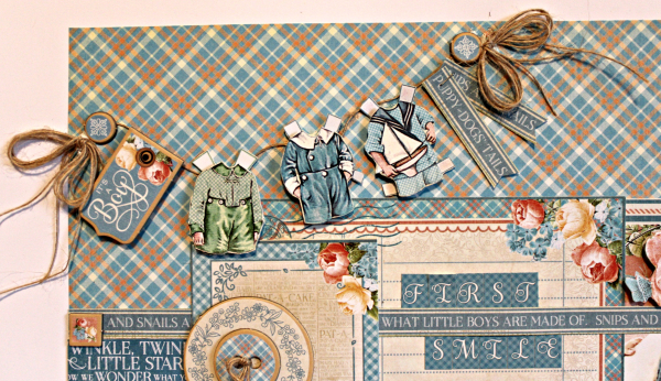 Graphic 45 Precious Moments Layout with Tutorial by Pam Bray - Photo 2_5166