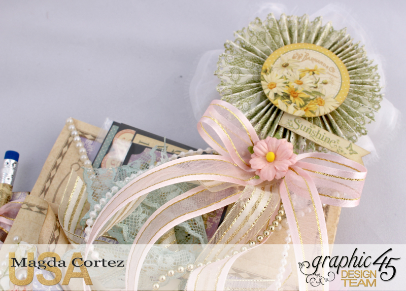 Loaded Pocket of Secrets- Secret Garden-By Magda Cortez- Product of Graphic 45- Photo 08 of 12