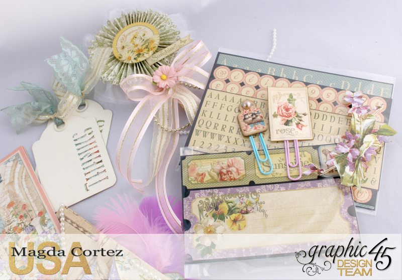 Loaded Pocket of Secrets- Secret Garden-By Magda Cortez- Product of Graphic 45- Photo 04 of 12