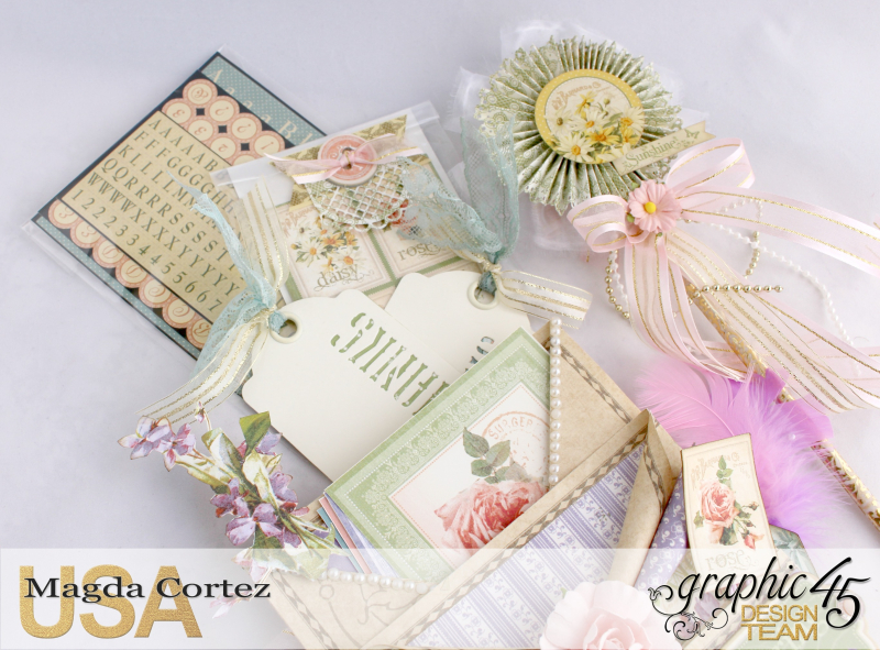 Loaded Pocket of Secrets- Secret Garden-By Magda Cortez- Product of Graphic 45- Photo 09 of 12