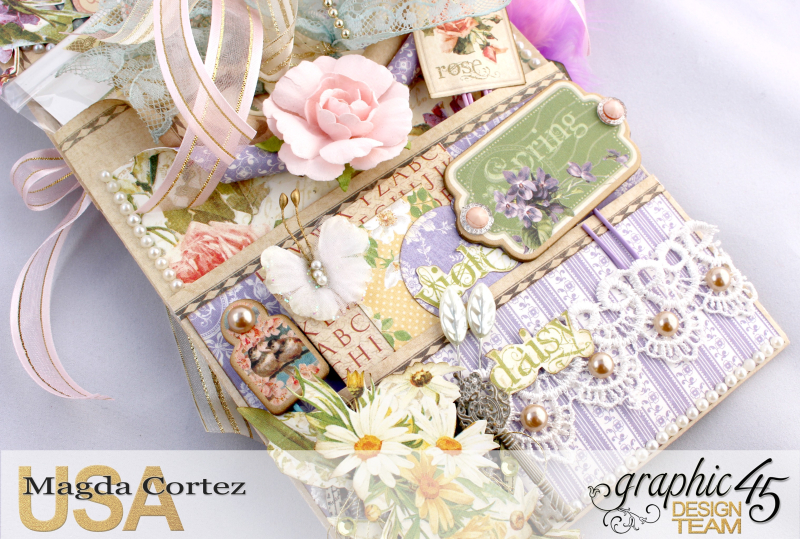 Loaded Pocket of Secrets- Secret Garden-By Magda Cortez- Product of Graphic 45- Photo 02 of 12