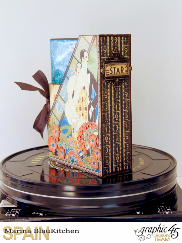 DVD Box Vintage Hollywood by Marina Blaukitchen Product by Graphic 45 photo 2