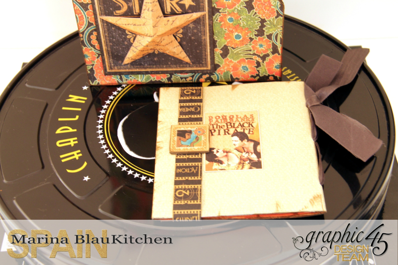 DVD Box Vintage Hollywood by Marina Blaukitchen Product by Graphic 45 photo 11