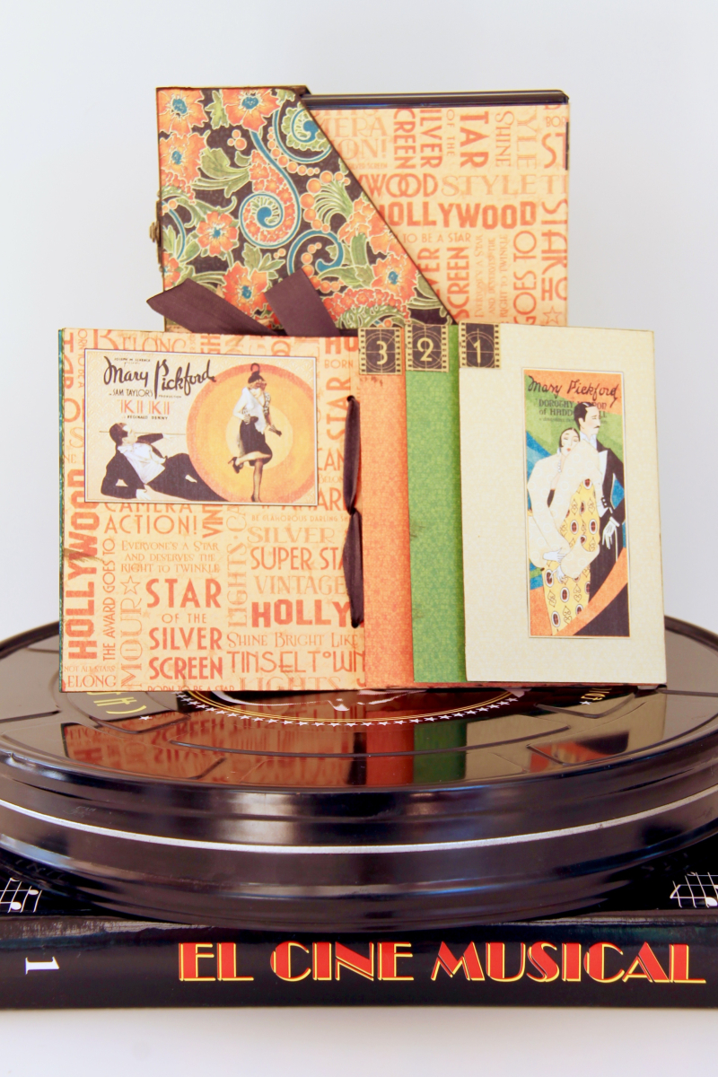 DVD Box Vintage Hollywood by Marina Blaukitchen Product by Graphic 45 photo 13