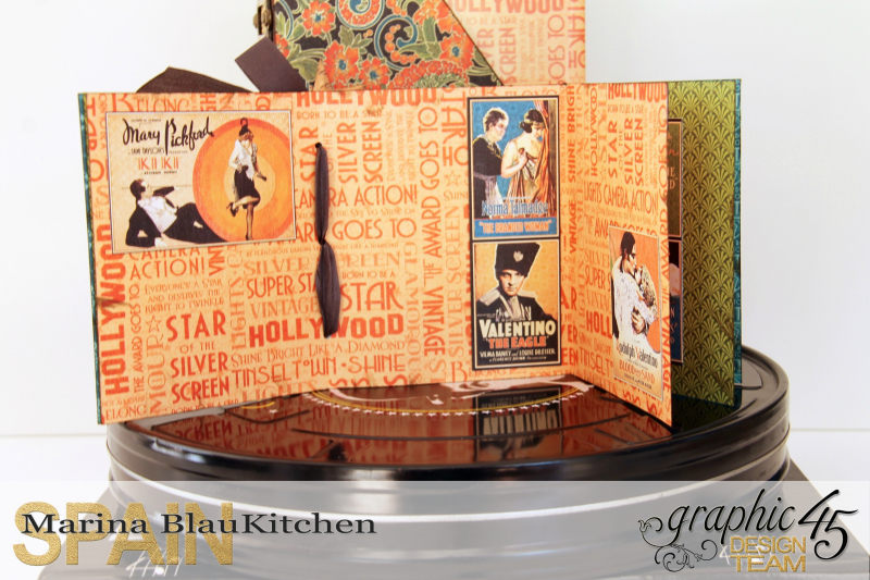 DVD Box Vintage Hollywood by Marina Blaukitchen Product by Graphic 45 photo 14
