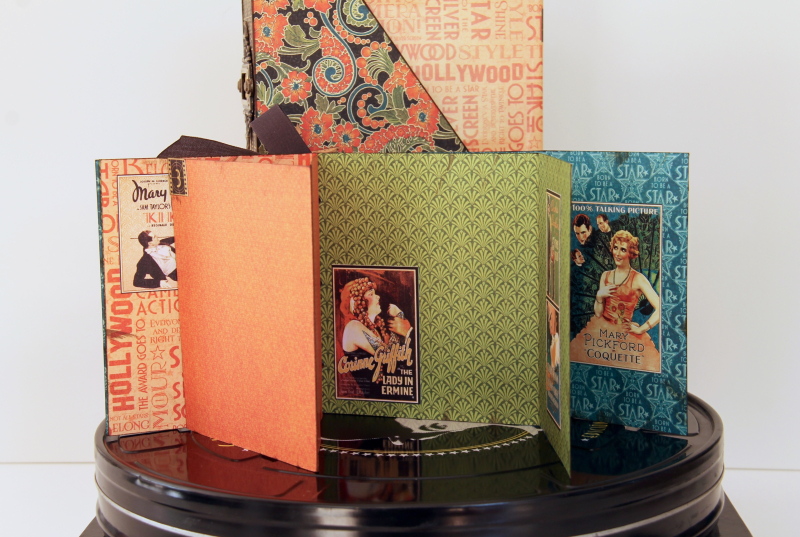 DVD Box Vintage Hollywood by Marina Blaukitchen Product by Graphic 45 photo 15