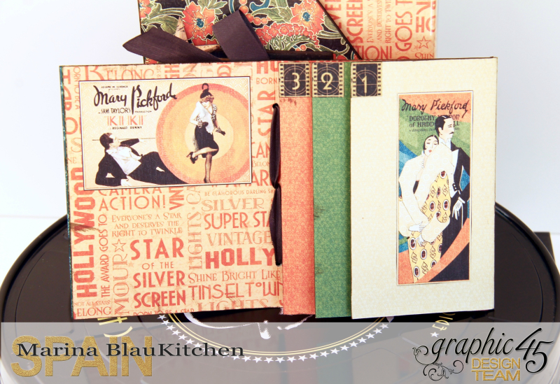 DVD Box Vintage Hollywood by Marina Blaukitchen Product by Graphic 45 photo 12