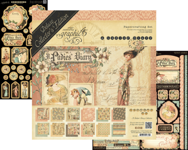 A Ladies' Diary  Deluxe Collector's Editions  Graphic 45  Back in Stock