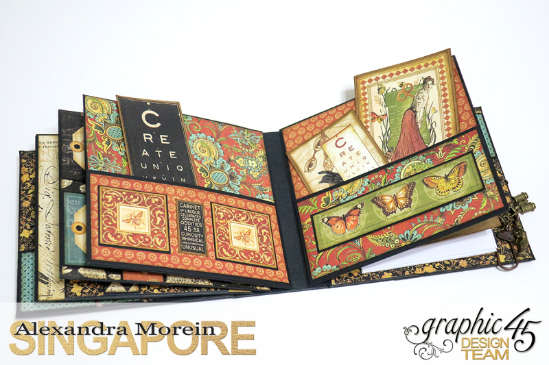 Olde Curiosity Shoppe Wagon  Olde Curiosity Shoppe  Tutorial by Alexandra Morein  Product by Graphic 45  Photo 24