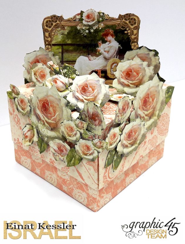 Roses Treasure Box  Portrait of a Lady  by Einat Kessler  product Graphic 45  photo 5