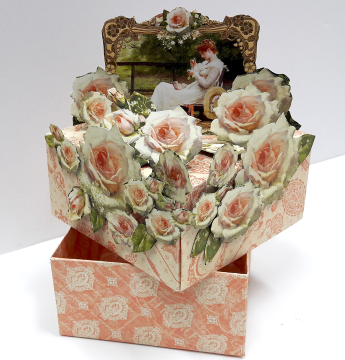 Roses Treasure Box  Portrait of a Lady  by Einat Kessler  product Graphic 45  photo 2