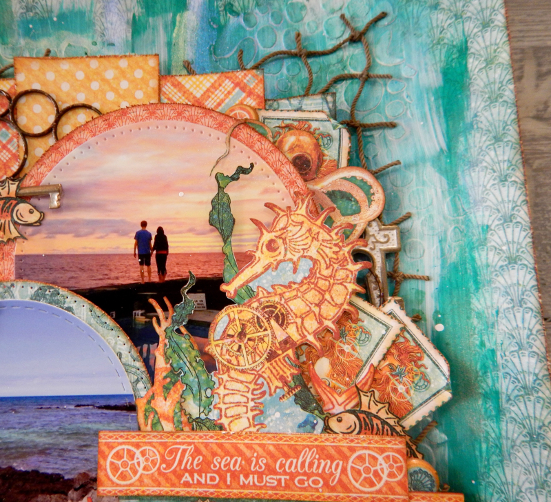 The Sea Is Calling and I Must Go  Voyage Beneath the Sea  Tutorial by Katelyn Grosart  Product by Katelyn Grosart  Photo 5