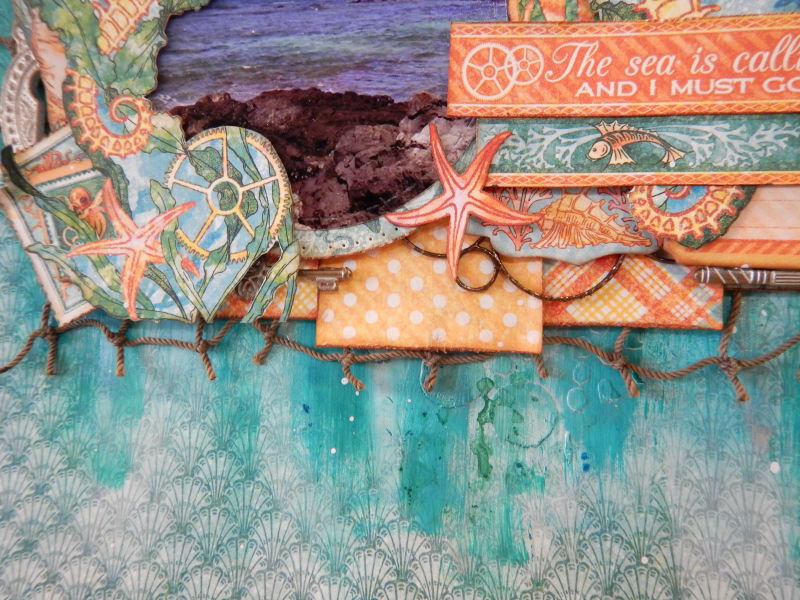 The Sea Is Calling and I Must Go  Voyage Beneath the Sea  Tutorial by Katelyn Grosart  Product by Katelyn Grosart  Photo 6