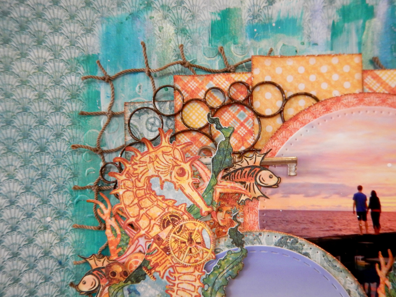 The Sea Is Calling and I Must Go  Voyage Beneath the Sea  Tutorial by Katelyn Grosart  Product by Katelyn Grosart  Photo 4